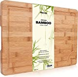 Premium Organic Bambus Schneidebrett von...