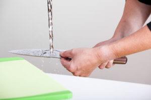 Damastmesser Pflege und Reinigung