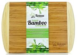 Bambus Schneidebrett zum Schneiden von Gemüse