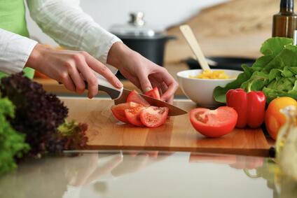 Gemüse schneiden Tipps