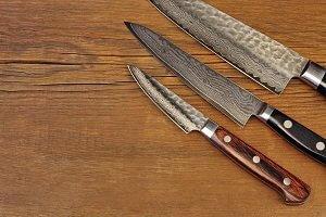 damast küchenmesser