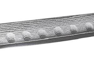 Schinkenmesser mit Kullenschliff