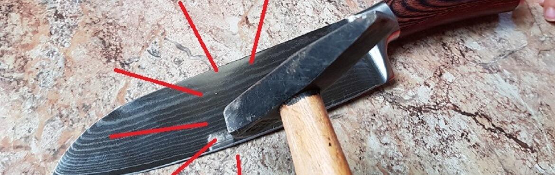 Küchenmesser aus Damaststahl