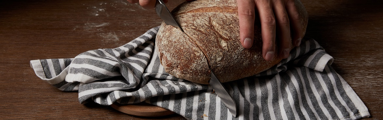 Damast Brotmesser